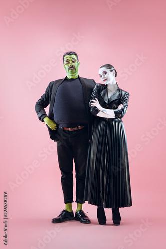 Valokuva  Halloween Family