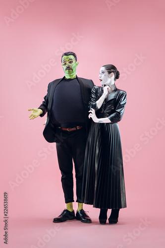 Fotografie, Tablou  Halloween Family