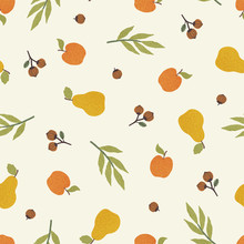 Apples, Pears And Nuts. Season...