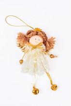 Cute Christmas Angel Figurine,...