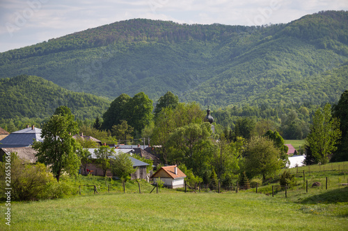 Fototapeta  Runina village
