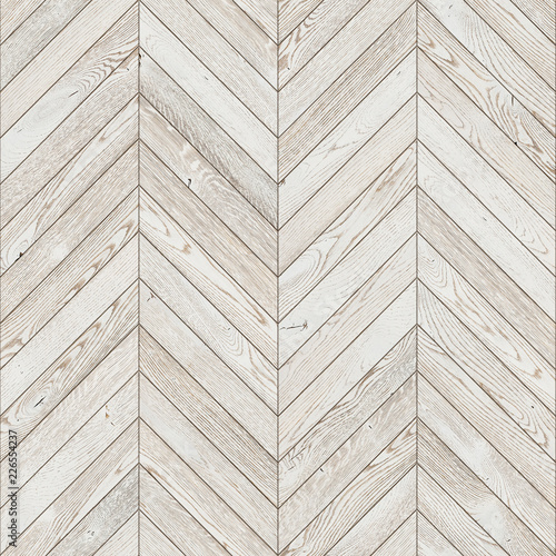 Natural Wooden Background Herringbone White Grunge