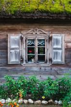 Window Of Cute Countryside House