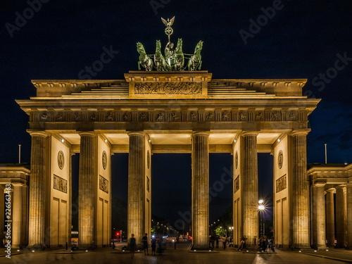 Poster Berlin Brandenburg gate