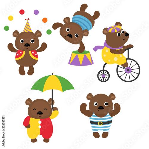 Set of circus animals. #226567851