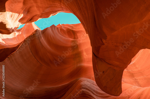 Recess Fitting Antelope View of Antelope Canyon and Sky