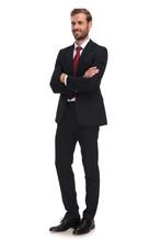 Attractive Businessman Standin...