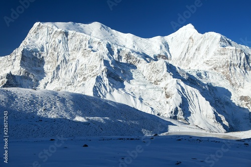 Fotografia, Obraz  Annapurna 3 III blue colored, Annapurna range