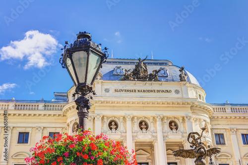 Foto op Plexiglas Theater Slowakisches Nationaltheater in Bratislava