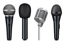 Microphones 3d. Music Studio M...