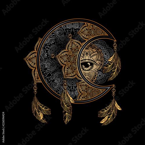 Fotografie, Obraz alchemy moon sun