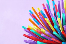 Straw Straws Plastic Single Us...