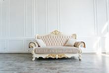 Beautiful Expensive Beige Sofa...