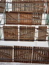 Construction Scafold Backgroun...