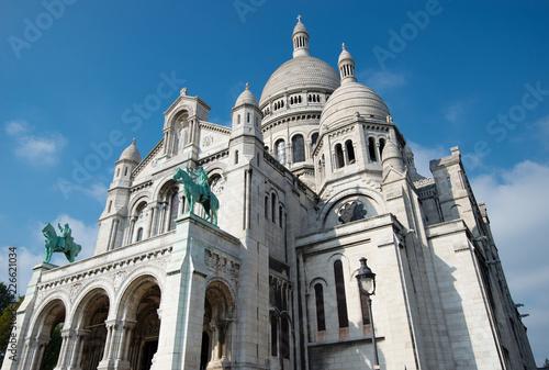 Photo  Basilica Sacre Couer at Montmartre in Paris