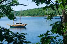 Sailboat In Acadia