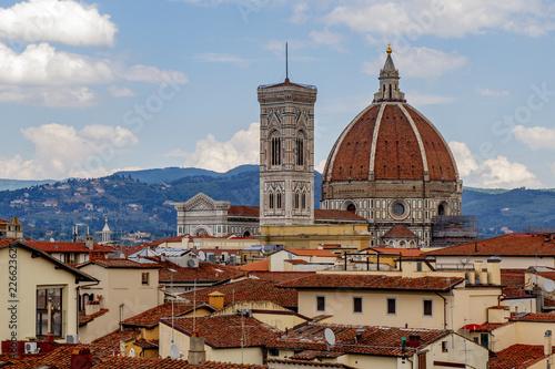 Fotografie, Obraz  Florence city skyline with Duomo