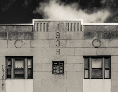 Fotografia  1939 Art Deco Facade
