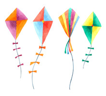 Kite Watercolor Collection Iso...