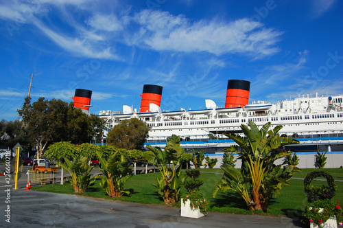 Queen Mary in Long Beach, California, USA