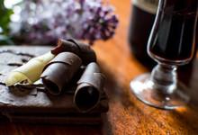 Dark Chocolate And White Choco...