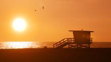 Sunset Over The Beach 1