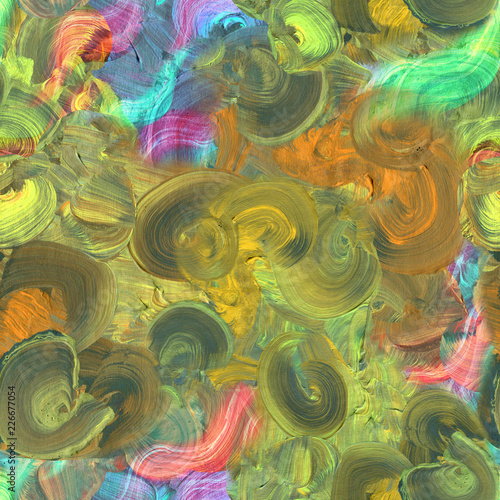 Abstract picturesque painting background with vivid brushstroke and artistic brushes textures. Grunge oil and acrylic modern artwork. Design composition for creative purposes