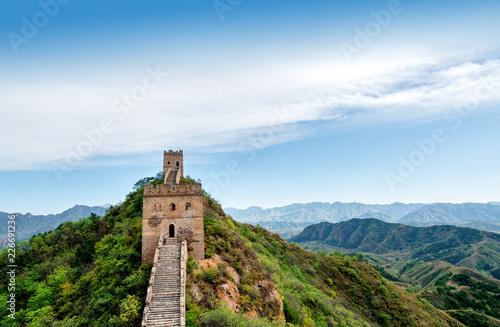 Foto op Plexiglas Historisch geb. The Great Wall of China.