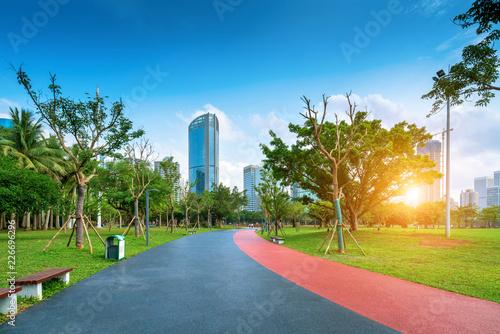 Foto  Skyscrapers in Hainan Island, China