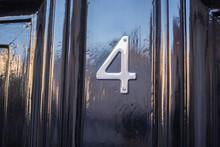 Four (4) Number Door Plate