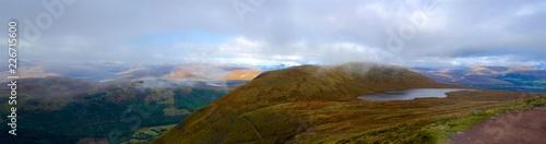 Scottish Highlands Panorama Ben Nevis lake Canvas Print