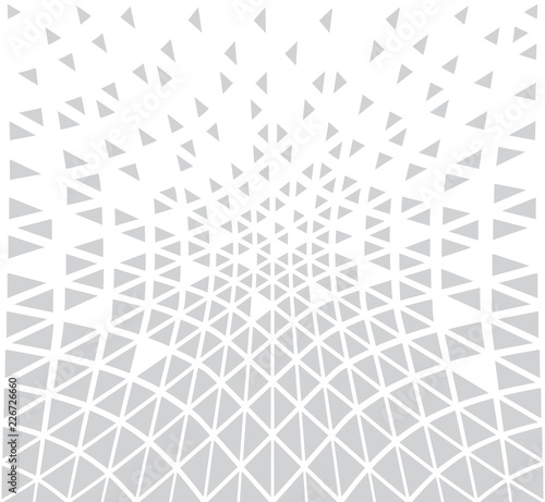 fototapeta na ścianę abstract seamless geometric triangle pattern vector background