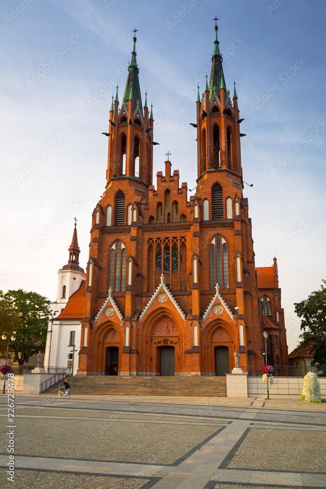 Fototapety, obrazy: Bazylika Wniebowzięcia Najświętszej Maryi Panny w Białymstoku