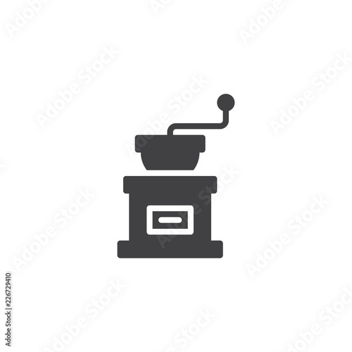 Photographie Coffee grinder vector icon