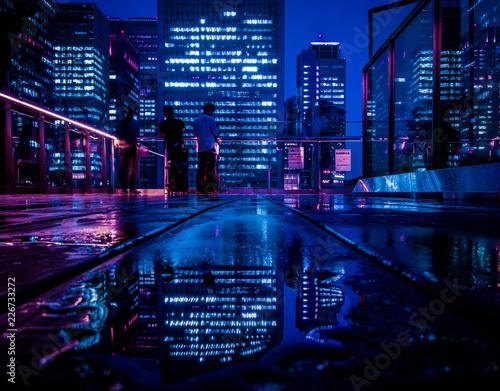 Deurstickers Tokio Tokyo CyberPunk