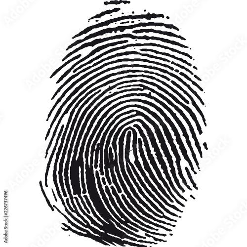 Billede på lærred impronta digitale