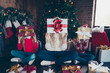 Christmastime winter festive event! Full legs body size funny fu