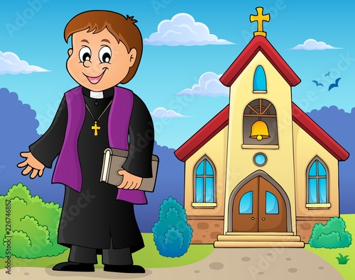 Young priest topic image 3