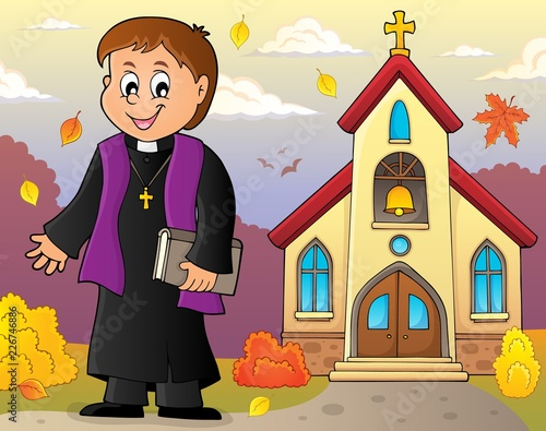 Young priest topic image 4