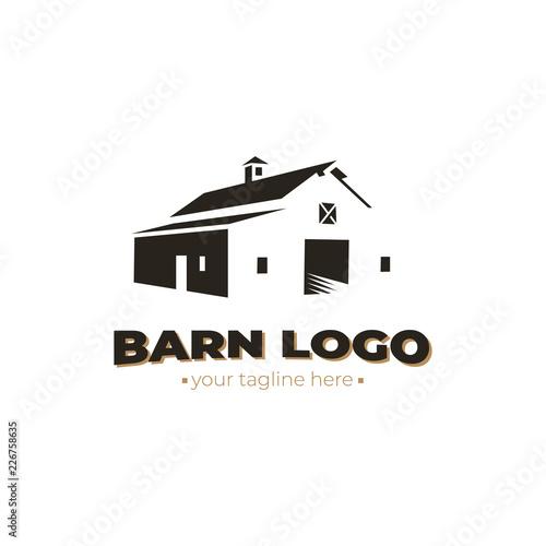 barn logo. vector design Slika na platnu