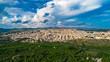 Aerial. Noto, Province of Syracuse, Italy.