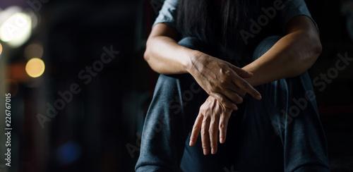 Fotografia  PTSD Mental health concept