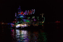 Bright Lights Christmas Boat P...