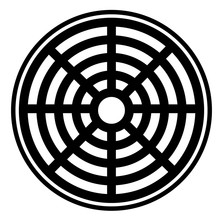 Sewer Icon On White Background. Sewer Icon For Your Web Site Design, Logo, App, UI. Flat Style. Pipe Cap Sign.