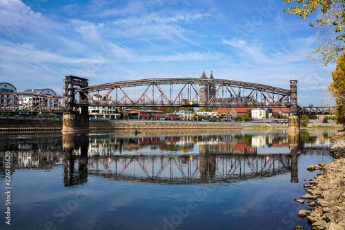 Zdjęcie XXL Most dźwigu Magdeburg