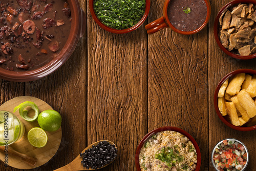 Photo sur Toile Plat cuisine Old wood. Background.