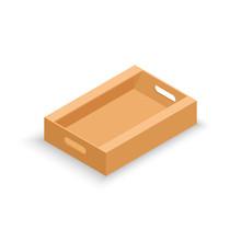 Isometric Cardboard Product Box
