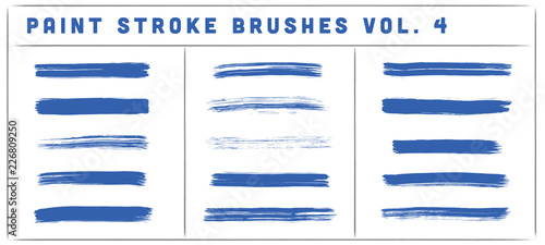 Paint Stroke Brushes Vol. 4 Wallpaper Mural