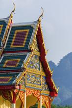 Tempel Wat Sok Tham In Khao Sok, Thailand