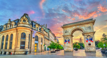 The Guillaume Gate At Sunset I...